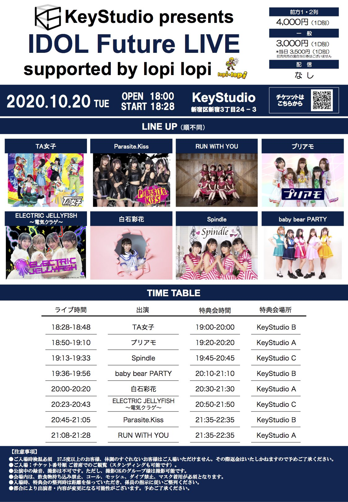 Keystudio Presents IDOL Future LIVE supported by lopi lopi