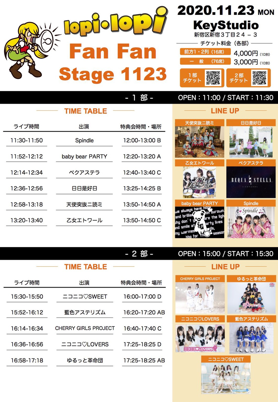 lopi lopi Fun Fun stage 1123 2部