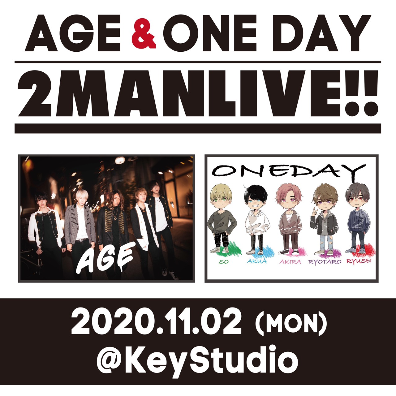 ONE DAY & AGE 2MAN LIVE PART.2